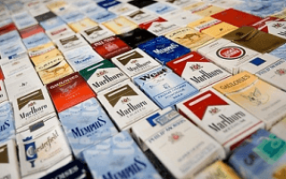 Все сигареты с кнопками