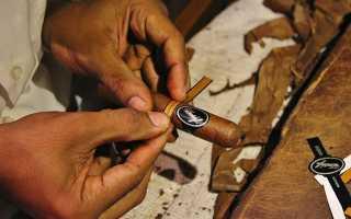 Скрутка сигар своими руками