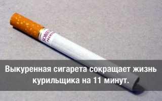 Что будет если покурить сигарету