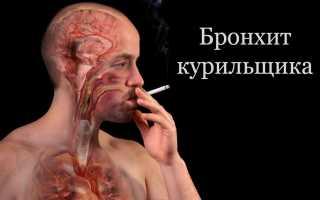Что такое хронический бронхит курильщика