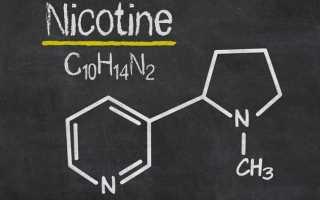 Никотин влияние на организм человека