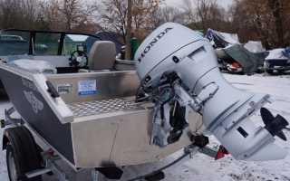 Правильная установка лодочного мотора на транец