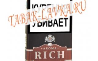 Richmond сигареты вкусы и цена