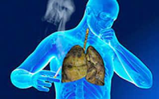 Кашель курильщика как лечить