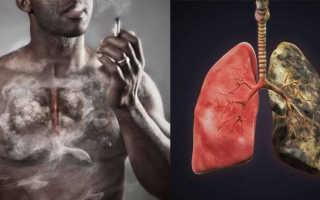 Сколько восстанавливаются легкие после курения