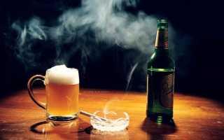 Что вреднее алкоголь или сигареты