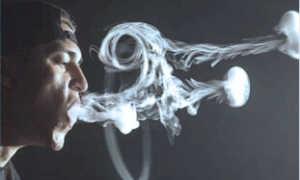 Как делать кольца дыма