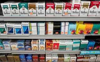Курящий и некурящий человек
