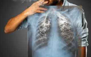 Чистка легких после курения в домашних