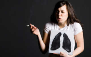 Кашель после отказа от курения