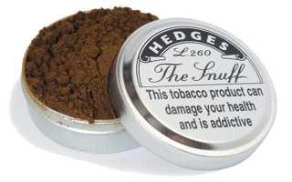Полезен ли нюхательный табак