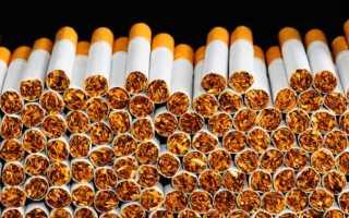 Условия хранения сигарет на складе