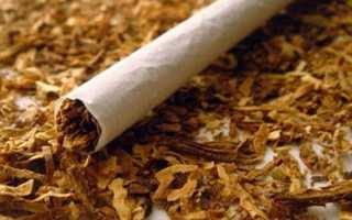 Сколько процентов табака в сигаретах