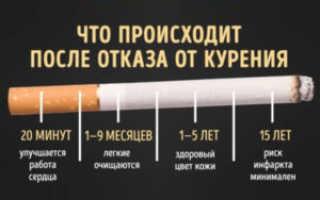 Когда восстановятся сосуды при отказе от курения