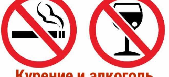 Вред алкоголя и табака на организм человека