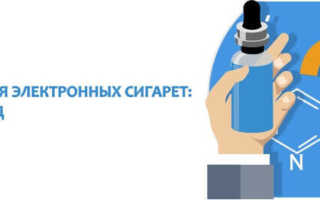 Состав жидкости для электронной сигареты без никотина